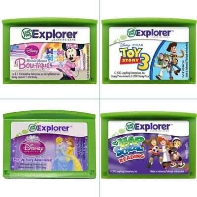 LeapFrog Child Education Reading Skills Learning game cartridge Leapster LeapPad
