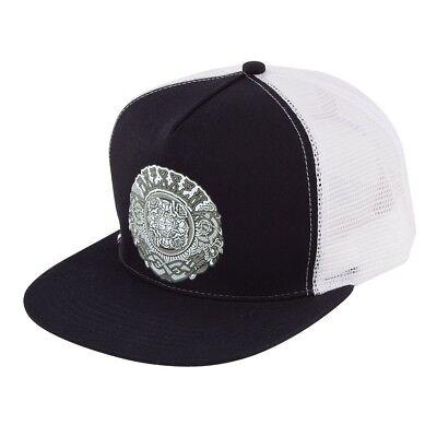 47f1cc1333a Santa Cruz Eric Dressen ROSES Skateboard Trucker Hat BLACK WHITE