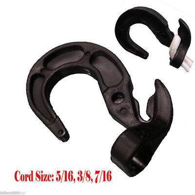16x Bungee Cord Hooks Bungie Shock Cord Hook Tarp Straps Poly Tarp 316 14 516