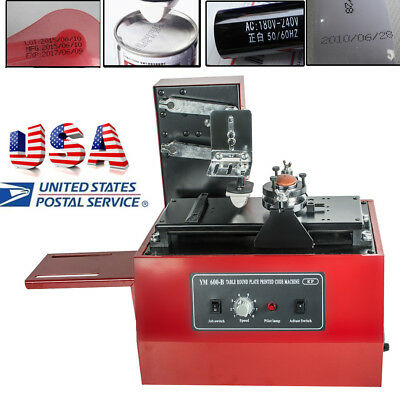 Electric Pad Printer Printing Machine F T-shirt Ball Pen Light Move Ink Printer
