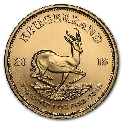 Krügerrand Gold 1 oz Südafrika aktueller Jahrgang 2018 Goldmünze 1 Unze