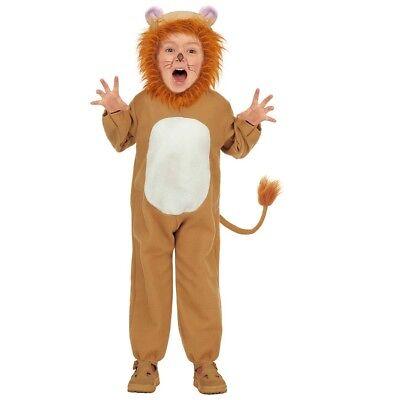 KINDER LÖWEN KOSTÜM # Karneval Jungen Mädchen Tiger Katze Tier Verkleidung (Tiger Kostüm Jungen)