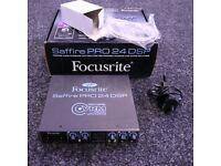 Focusrite Saffire pro 24 DSP BOXED - Sound Card audio Interface Guitar, bass recording