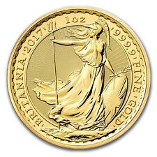 SPECIAL PRICE! 2017 Great Britain 1 oz Gold Britannia Brilliant Uncirculated