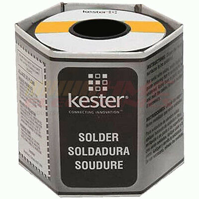 Kester 24-6040-0027 44 Rosin Core Solder 60/40 .031 1 lb. Spool