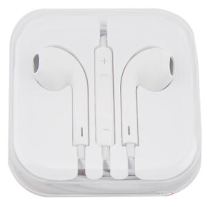 Earbuds Headset Earphone Headphone with Remote & Mic for iPhone 5 5th 4 4s iPod