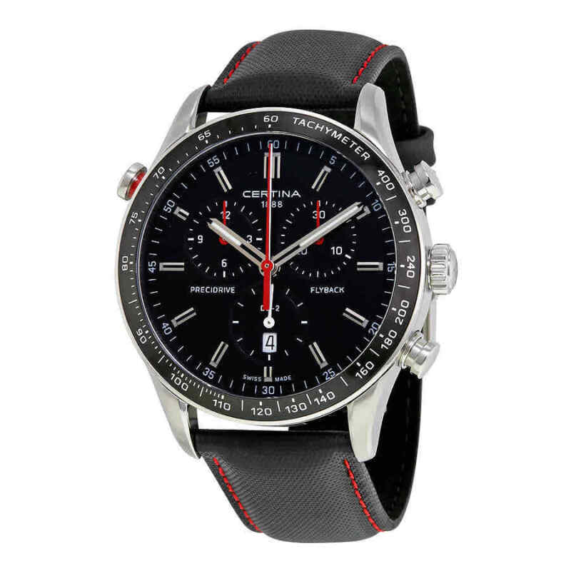 Certina-DS-2-Flyback-Chronograph-Black-Dial-Men-Watch-C024.618.16.051.00