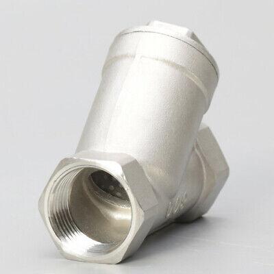 Y Strainer 34 Pump Filter Npt Stainless Steel 316 1000psi Mesh Water Oil