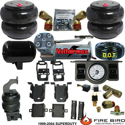 ChassisTech Tow Kit Ford F250 F350 1999-2004 Compressor & Dual Paddle Valve xzx