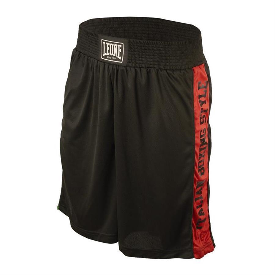 Leone - AB739 Pantaloncino Nero Boxe