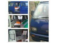 Daihatsu mini camper.