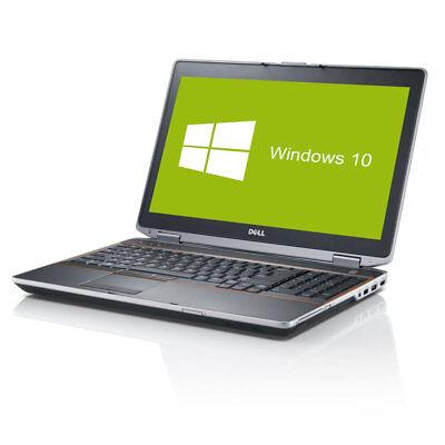 Dell Latitude E6520 Notebook Intel Core i5 2x 2,5GHz 4GB RAM 250GB HDD Win10