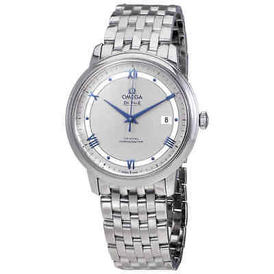 Omega Prestige Co-Axial Automatic Silvery Dial Men's Watch 424.10.40.20.02.001