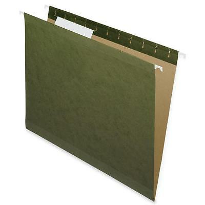 Nature Saver Hanging File Folders Recycled 13 Cut Letter 25bx Green 08651