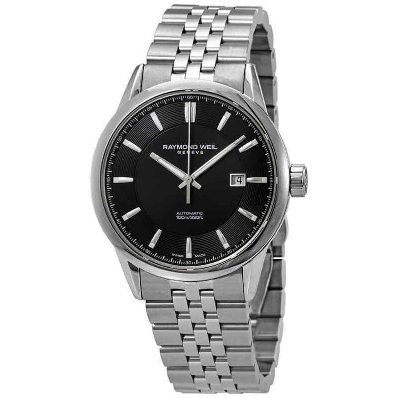 Raymond Weil Freelancer Automatic Black Dial Men Watch 2731-ST-20001