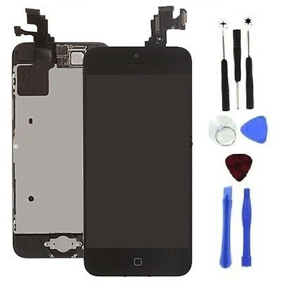 Black LCD Lens Touch Screen Display Digitizer Assembly for iPhone 5C + Tool Kit on Rummage