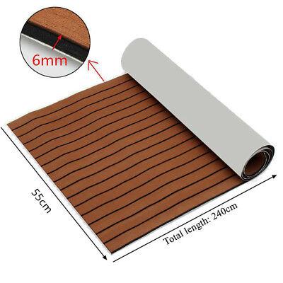EVA Foam Teak Sheet Marine Flooring Yacht Boat Car Decking Self-Adhesive Pad mat