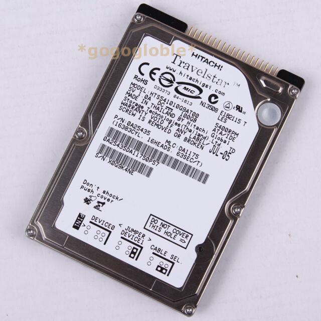 """OK HITACHI HTS541010G9AT00 100GB 5400RPM 2.5"""" PATA/IDE 8MB HDD Hard Disk Drives"""