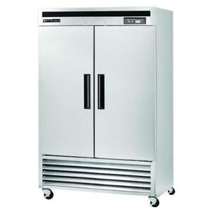 2 door commercial stainless steel refrigerators - Brand new - OVERSTOCK SPECIAL