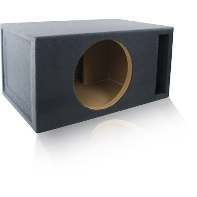 "Vented Woofer - 4.0 FT³ @ 32Hz PORTED/VENTED CAR SUBWOOFER BOX MDF ENCLOSURE FOR 15"" SUB WOOFER"