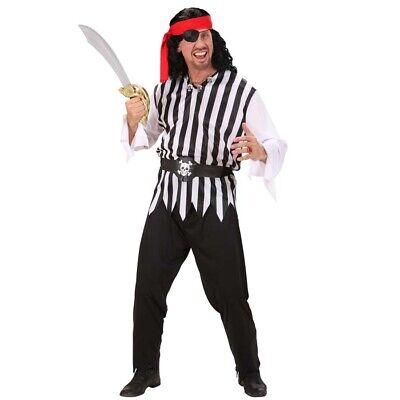 HERREN PIRATENKOSTÜM Karneval Mittelalter Piraten Kostüm Karibik Seeräuber (Karibik Piraten Kostüm Herren)