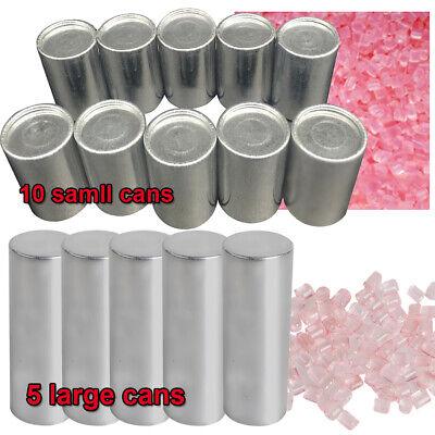 510 Cans Dental Lab Materials Denture Flexible Acrylic Light Pink Blood Streak