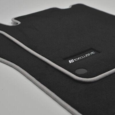 Mattenprofis Exclusiv Velour Fußmatten für Mercedes SLK R170 ab Bj.1996 - 2004 s