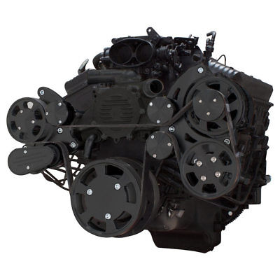 Black Serpentine System for LT1 Generation II - Power Steering & Alternator