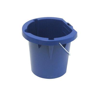 - Paint Bucket Durable Plastic Multipurpose Pail BPA-Free Wire Handle 1-Gallon