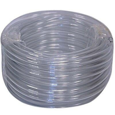 Vinyl Tubing 100ft Water Drain Hose 34in Id Hvac Tube Ac Condensate Pump Clear