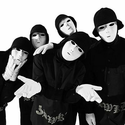 Halloween Costumes Jabbawockeez Mask (Jabbawockeez Halloween Mask Dance Party DJ Crew anonymous face Costume)