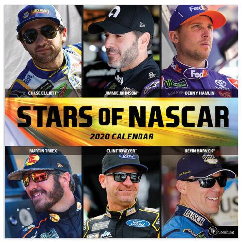 2020 Stars of NASCAR Wall Calendar
