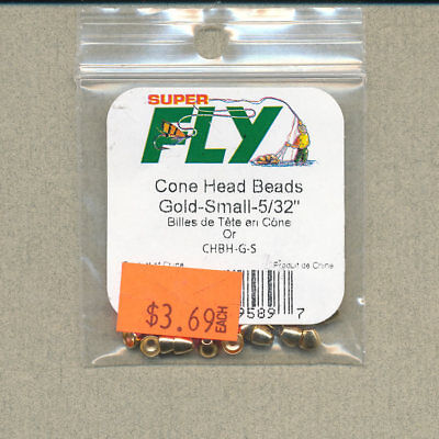 """Brass fly tying Coneheads Cuivre 4 mm 5//32/"""" 100 Count"""