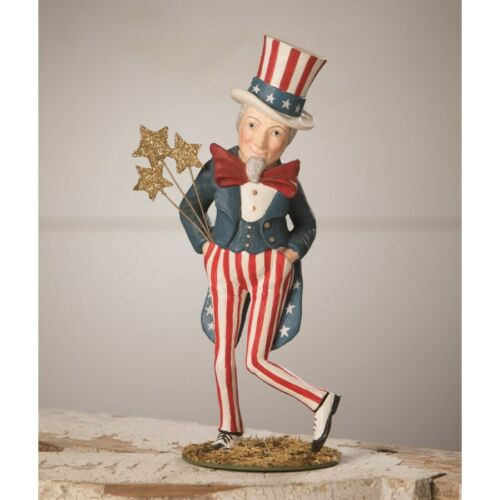 Dancing Uncle Sam Figurine Bethany Lowe Americana New 4th Of July