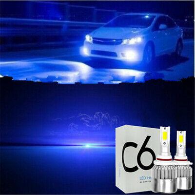 Car LED Work Lights Headlight C6 9005 Replace Bulbs Blue For Toyota Rav4