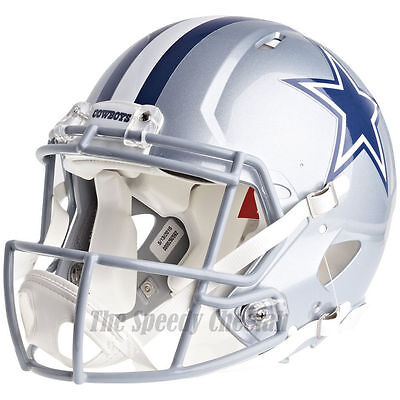 DALLAS COWBOYS RIDDELL NFL FULL SIZE AUTHENTIC SPEED FOOTBALL HELMET