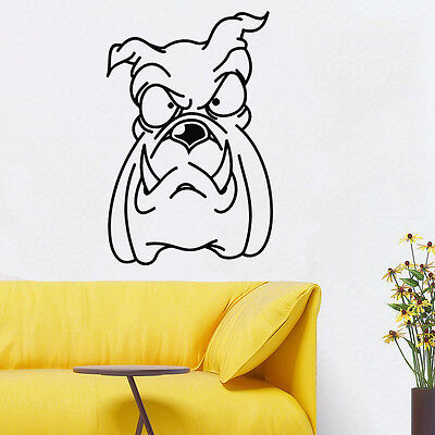 Wall Room Decor Art Vinyl Sticker Mural Decal Types Of Dog Breeds Animal FI459