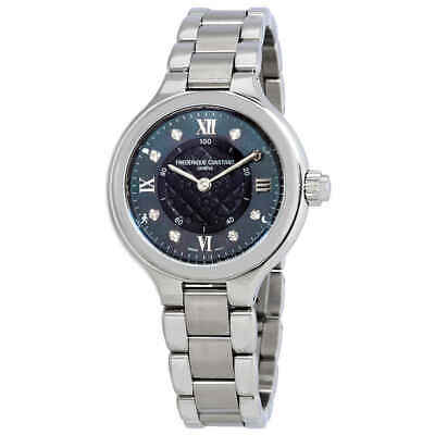 Frederique Constant Smarwatch Grey MOP Ladies Watch FC-281GHD3ER6B