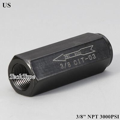 Hydraulic Check Valve 38 Npt Pump Oil 3000psi No Return Valve Single Way Us