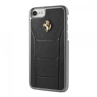 Ferrari 488 Black Leather iphone 7/8 Case