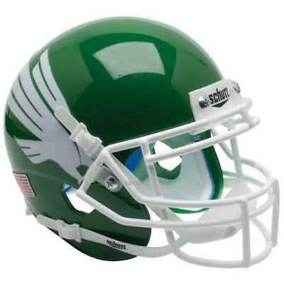 North Texas Football - NORTH TEXAS MEAN GREEN SCHUTT XP AUTHENTIC FOOTBALL HELMET