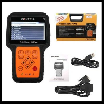 Foxwell Nt644  Universal Diagnostic Scan Tool Abs Airbag Scanner Oil Brake Reset