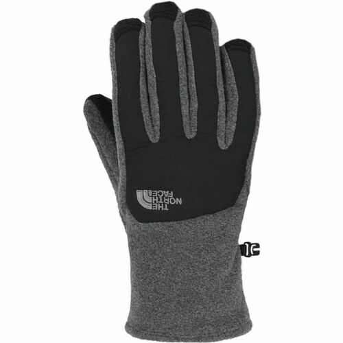 NWT The North Face TKA 300 Men's Denali Etip UR Powered Black/Grey Gloves $35