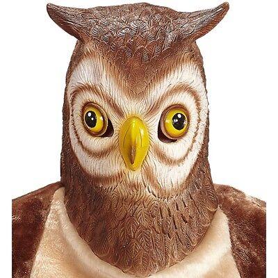 LATEX EULEN MASKE # Eulenmaske Uhu Kauz Vogelmaske Vogel Kostüm Party Deko 96634 (Latex Maske Vogel)