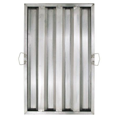 25 X 16 X 2 Stainless Steel Commercial Kitchen Exhaust Hood Filter
