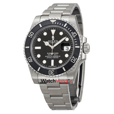 Rolex Oyster Perpetual Submariner Cerachrom Bezel Steel Mens Watch 116610LN