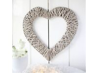 Willow Heart Hanging Decoration (large)