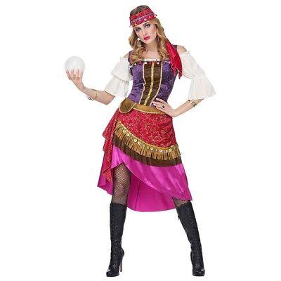 PREMIUM GIPSY DAMEN KOSTÜM # Karneval Fasching Zigeunerin Wahrsagerin Kleid 0813