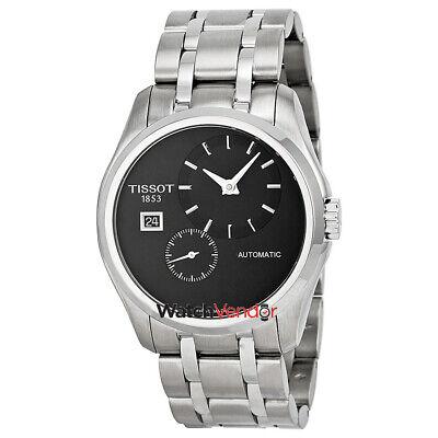 Tissot Couturier Automatic Black Dial Mens Watch T0354281105100