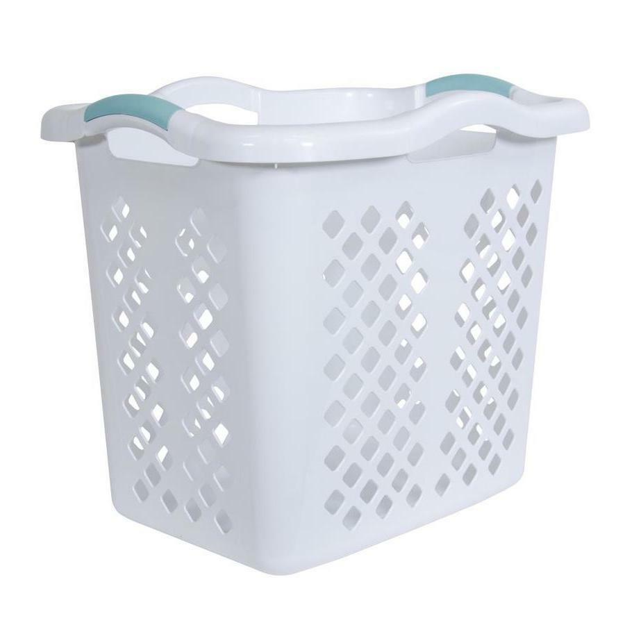 Laundry Basket Hamper Durable High-Quality Resin Comfortable